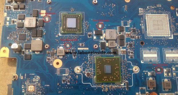 Laptop Motherboard Short Circuit Repair Tutorial