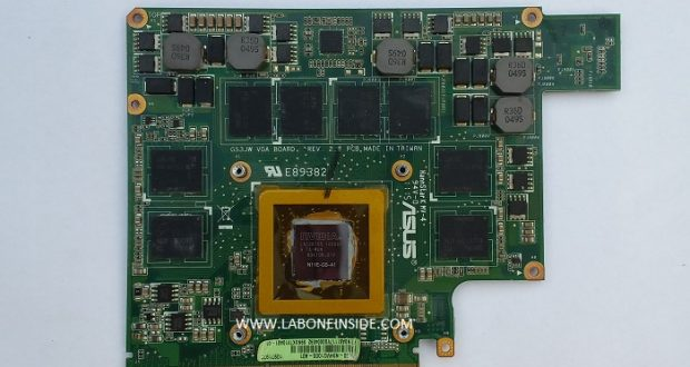 BIOS CHIP ASUS G53SW notebook