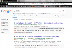 what is laptop motherboard partnumber